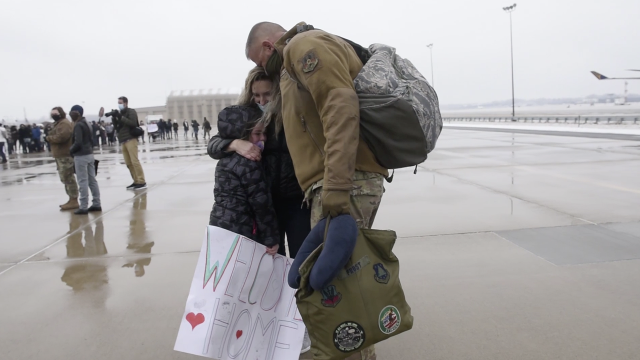 Ohio National Guardsmen return home
