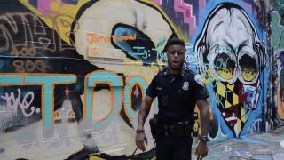 "Officer Joshua Jackson, AKA ""Saint the Rappin Cop"""