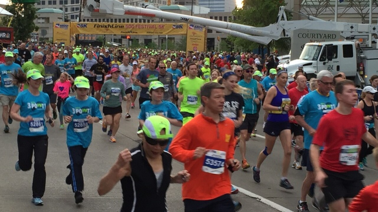 PHOTOS: Indy 500 Mini Marathon