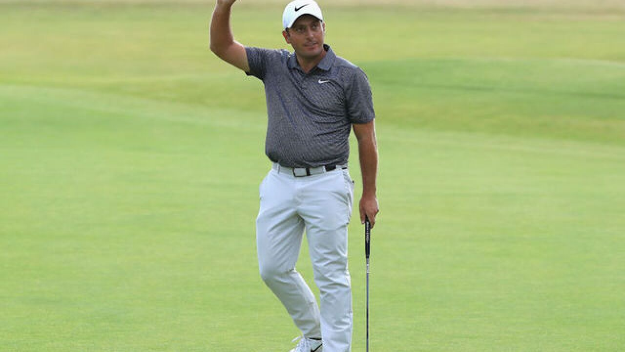Francesco Molinari wins British Open as Tiger Woods falls short
