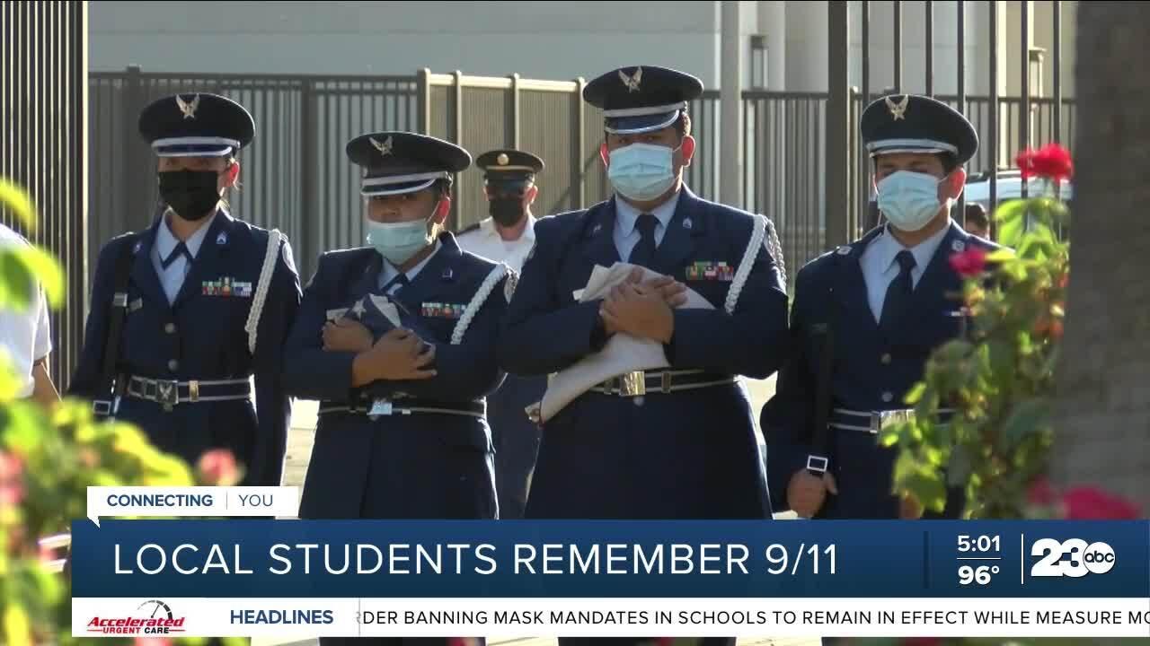 BHS ROTC for 9/11 September 10, 2021