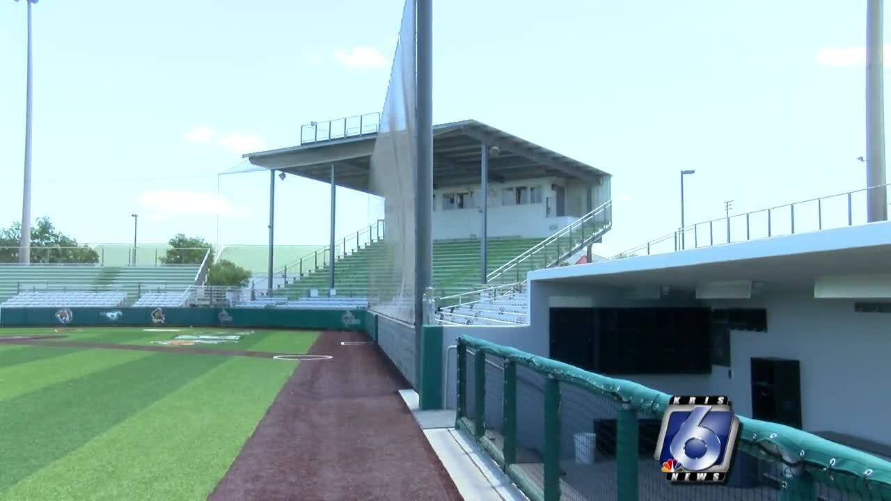 Cabaniss Athletic Complex Improvements nearly complete