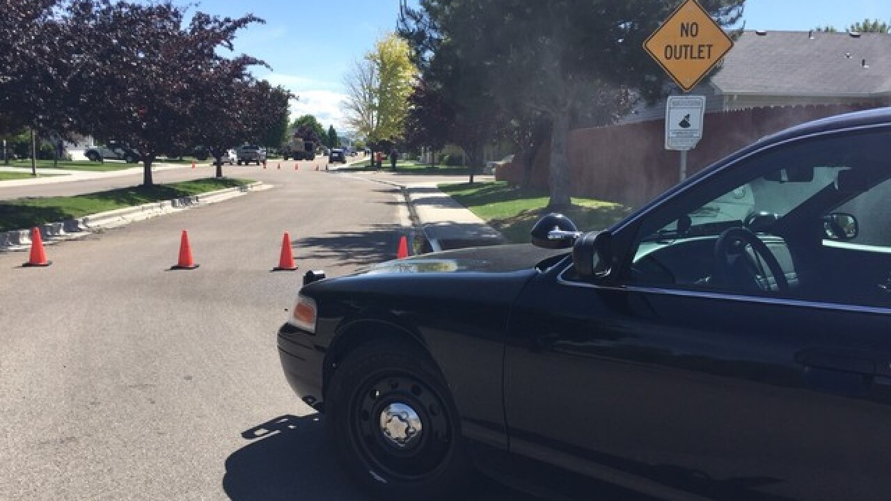 Man in custody after domestic stand-off in Nampa