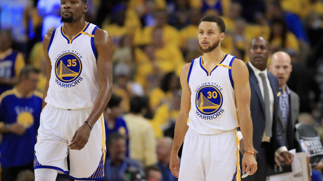 Kevin Durant: '100 percent correct decision' to join Warriors