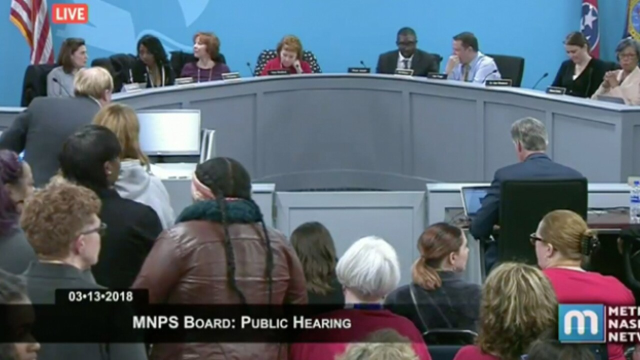 Metro School Board Members Blast School Director Over Budget Transparency