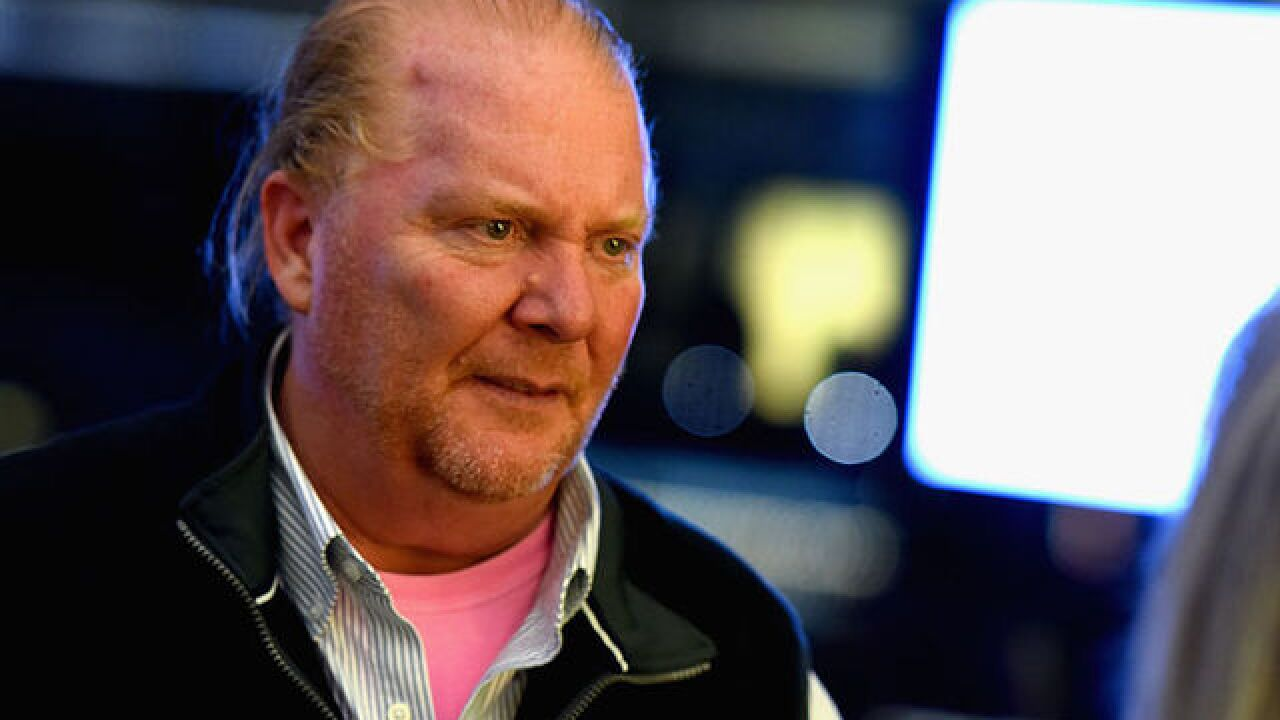 TV chef Mario Batali under police investigation for sexual misconduct