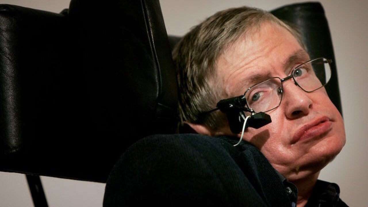 Stephen Hawking gives the world 1,000 more years to support humans
