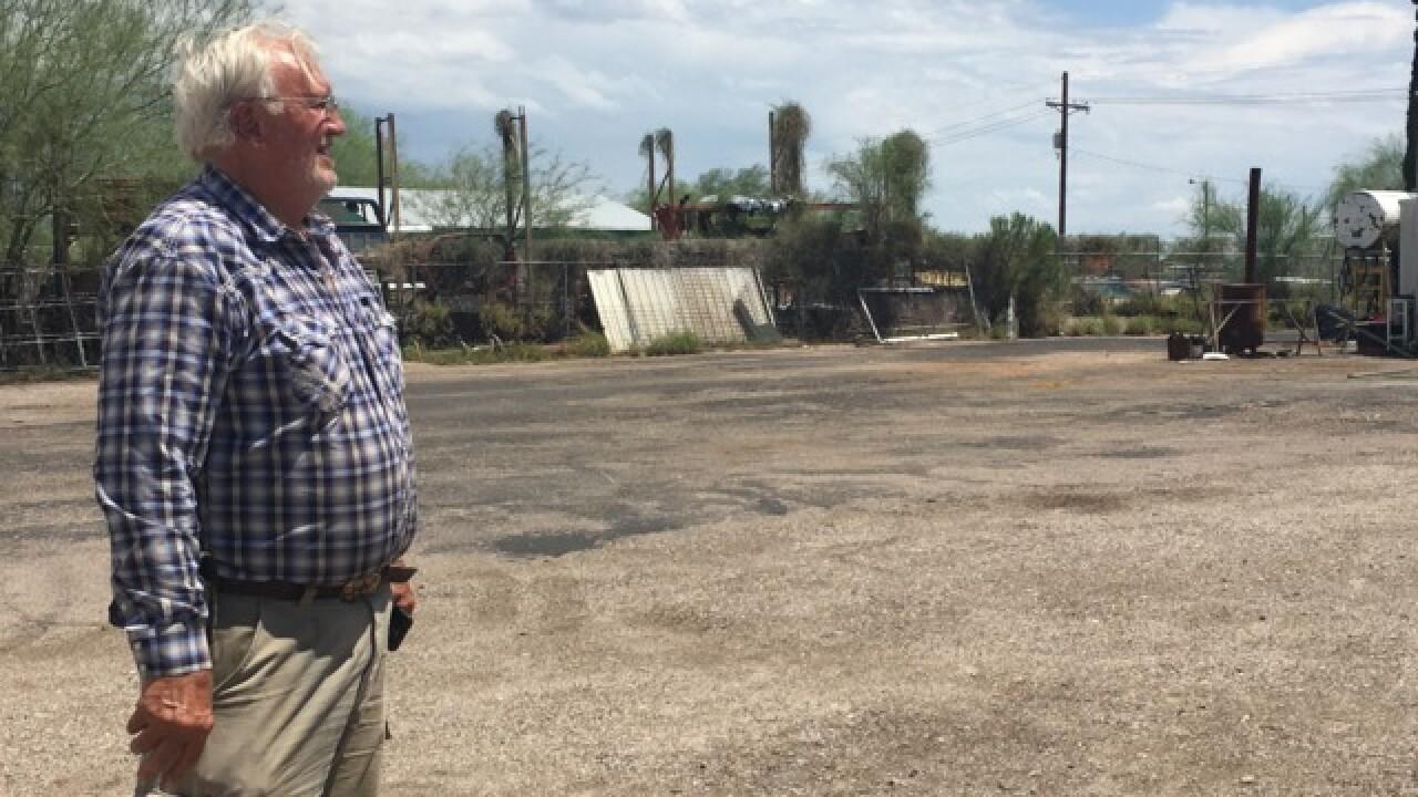 EXCLUSIVE: Owner of storage yard robbed speaks