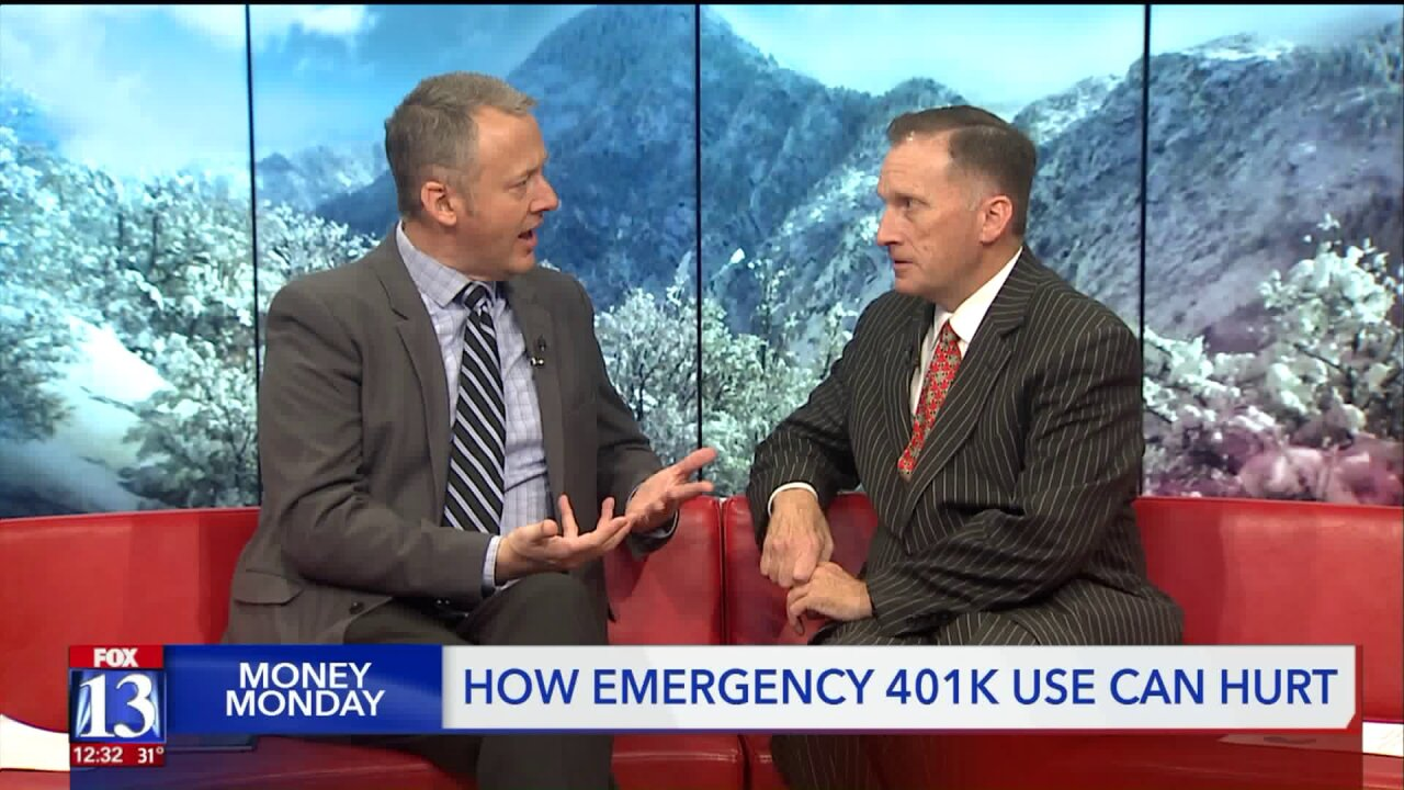 Financial expert warns against dipping into your 401k