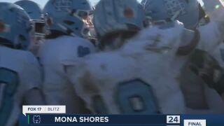 Mona Shores 24, East Lansing 21