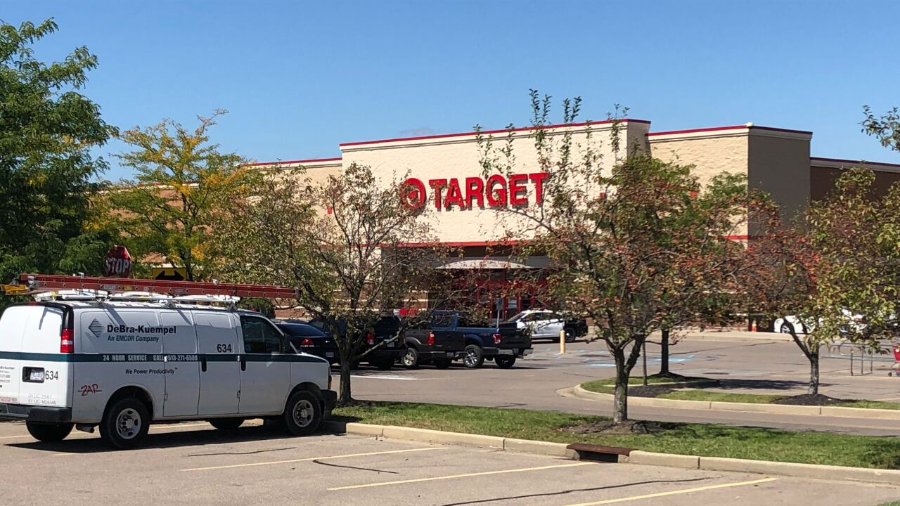 Target: Man with knife threatened two employees at