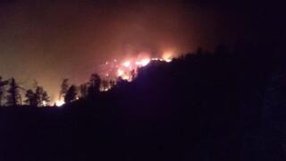 Slough Grass Fire