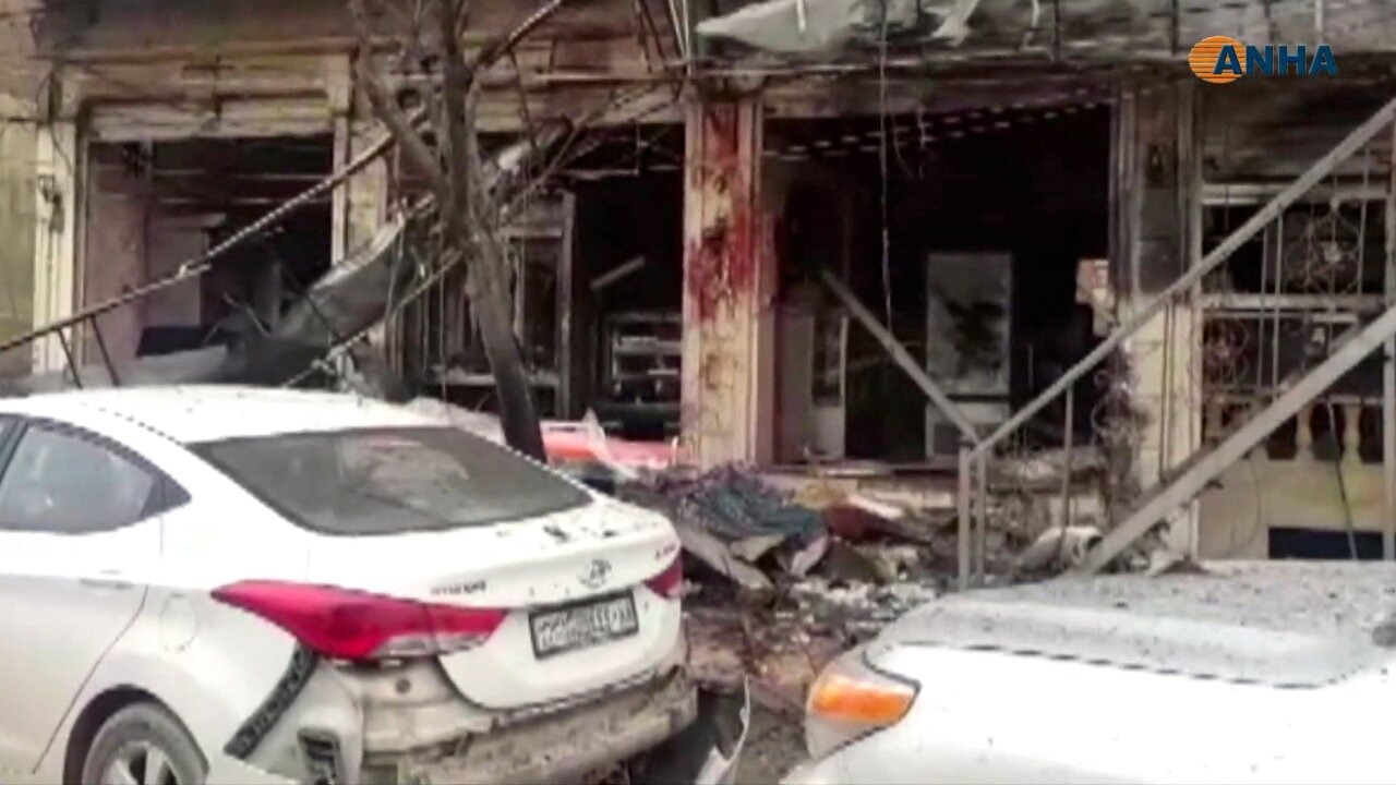 Deadly explosion in US-patrolled city in Syria