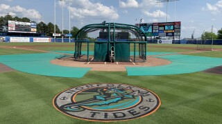 Harbor Park, Norfolk Tides