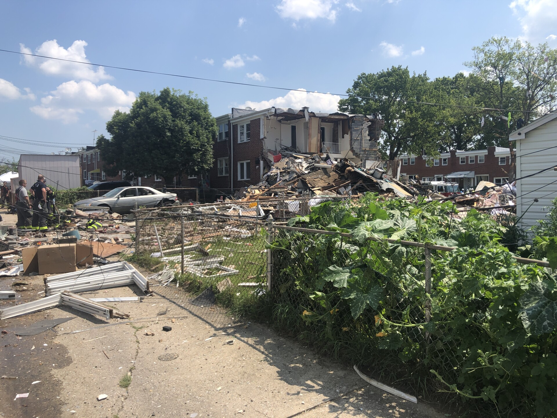 Deadly explosion turns NW Baltimore homes into rubble