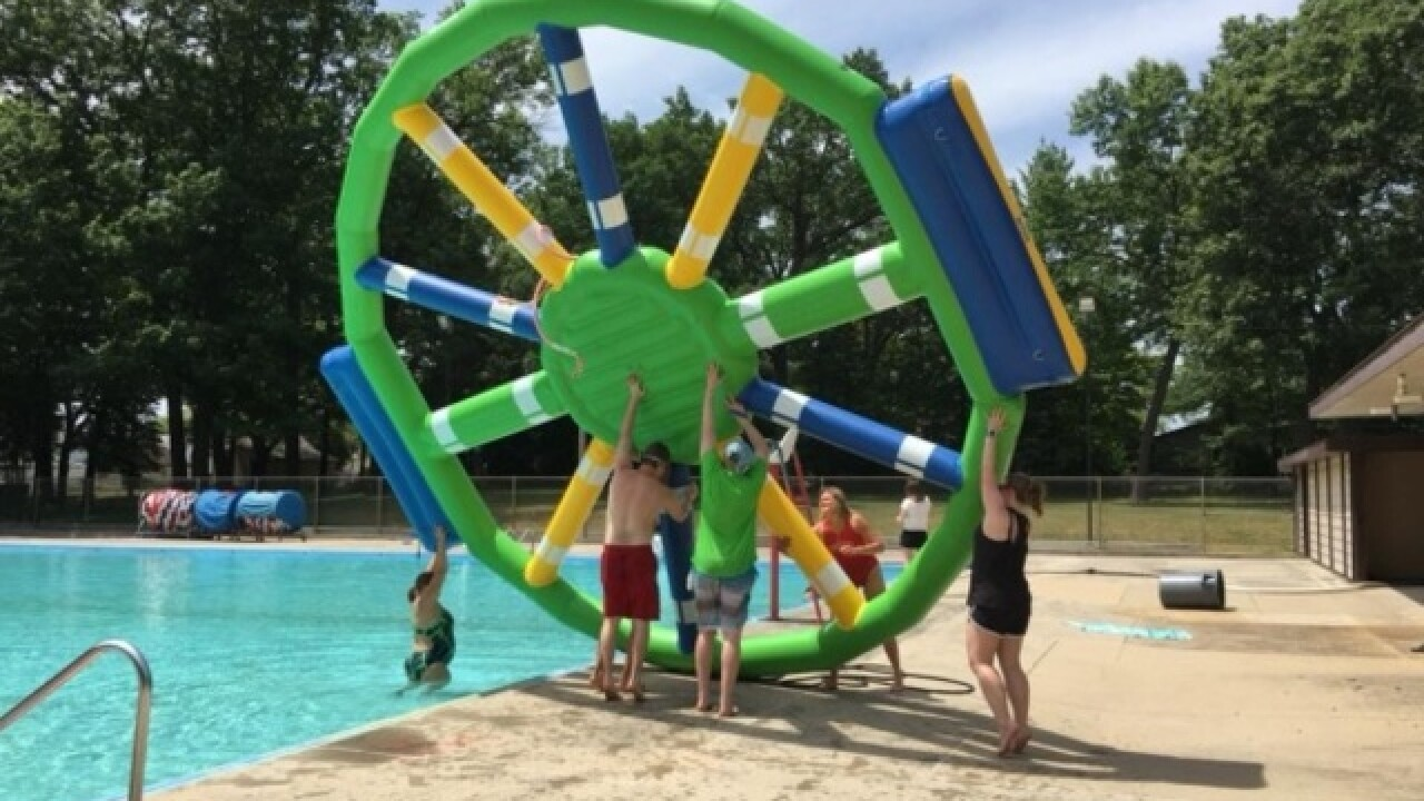Colburn Pool opens for the summer