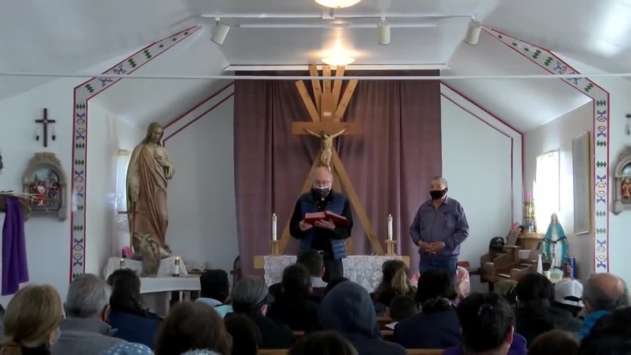 Good Friday observed in Browning