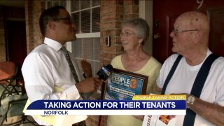 People Taking Action: property owners treat tenants like family!