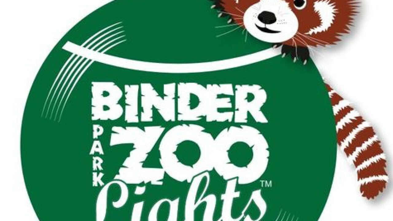 Go wild this holiday at Binder Park Zoo's ZooLights!