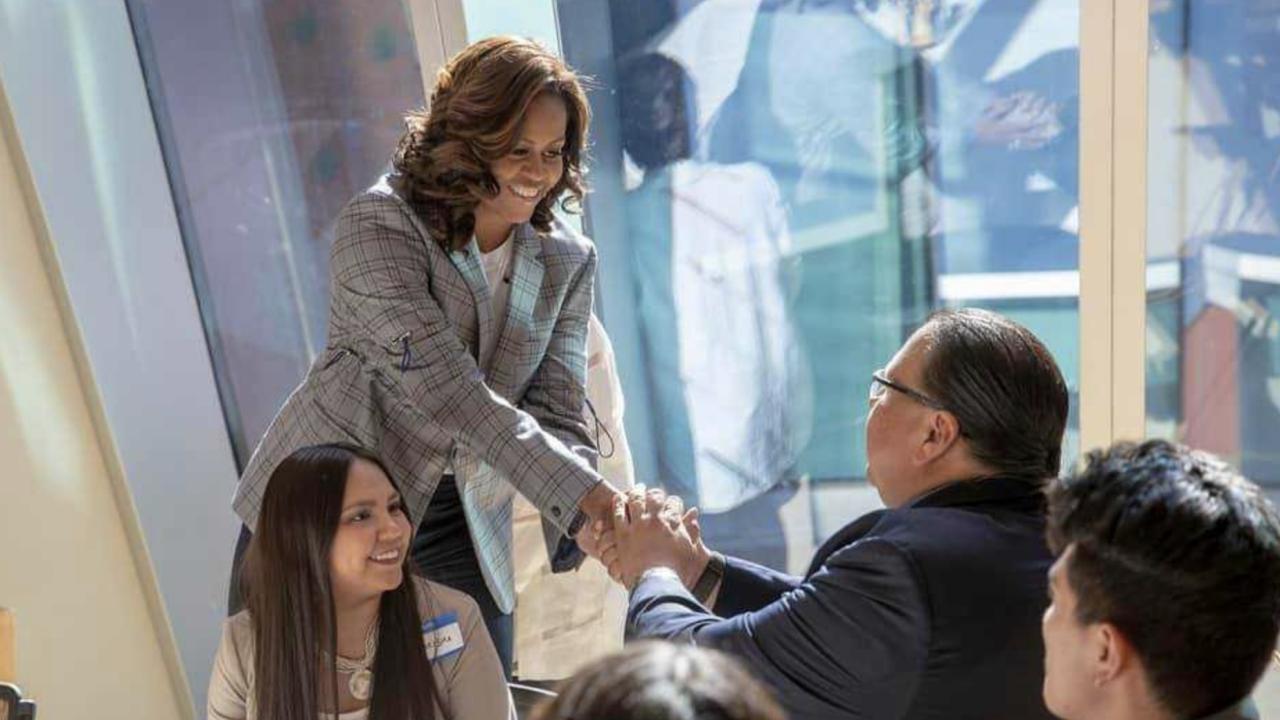 Michelle Obama makes Valley visit