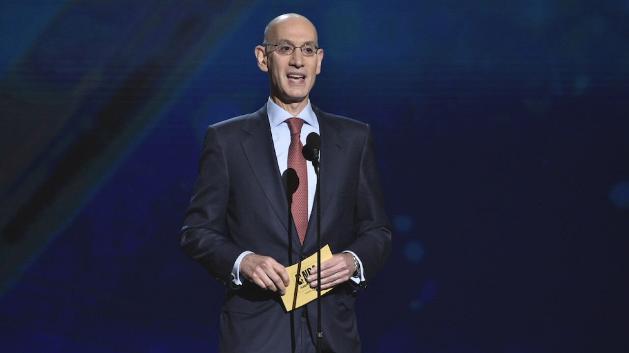 NBA Commissioner Adam Silver says next season may not start until 2021