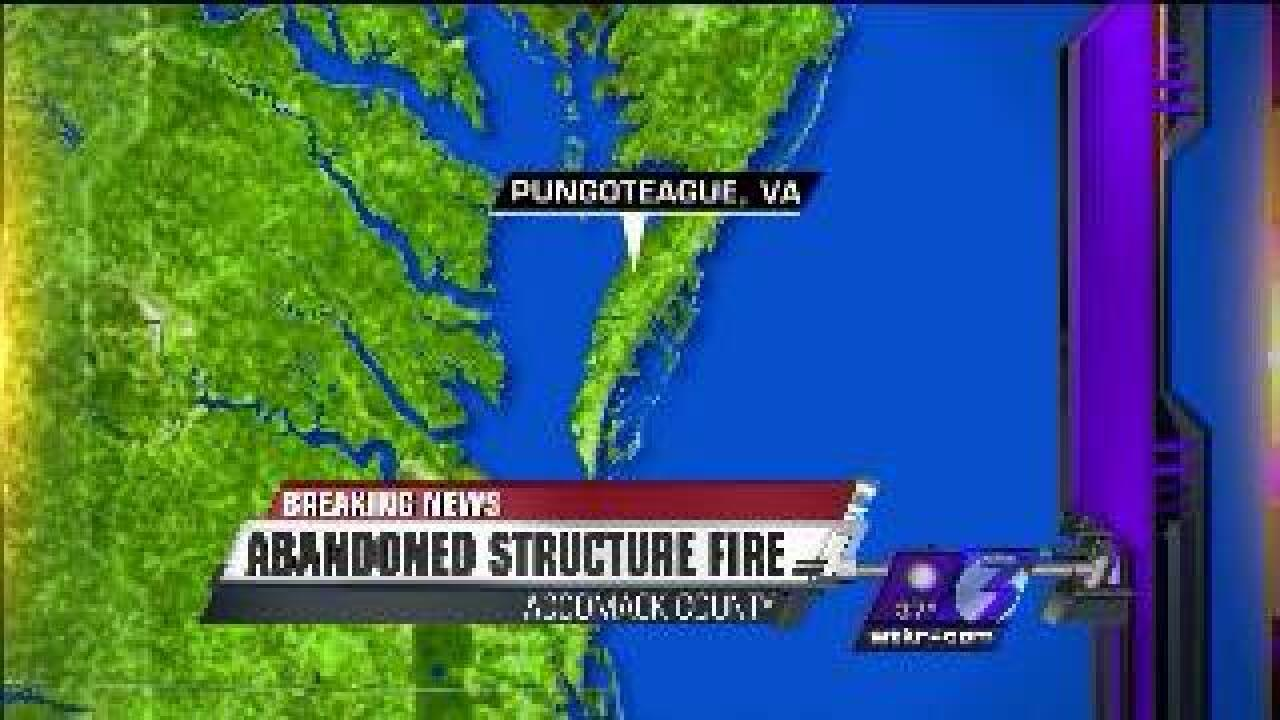 Another fire reported in Accomack County