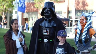 PHOTOS: San Diego's 501st Legion invades 'Star Wars' night at Petco Park