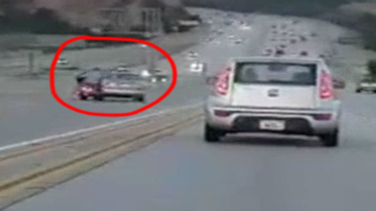 VIDEO: Scary California freeway collision caught on camera