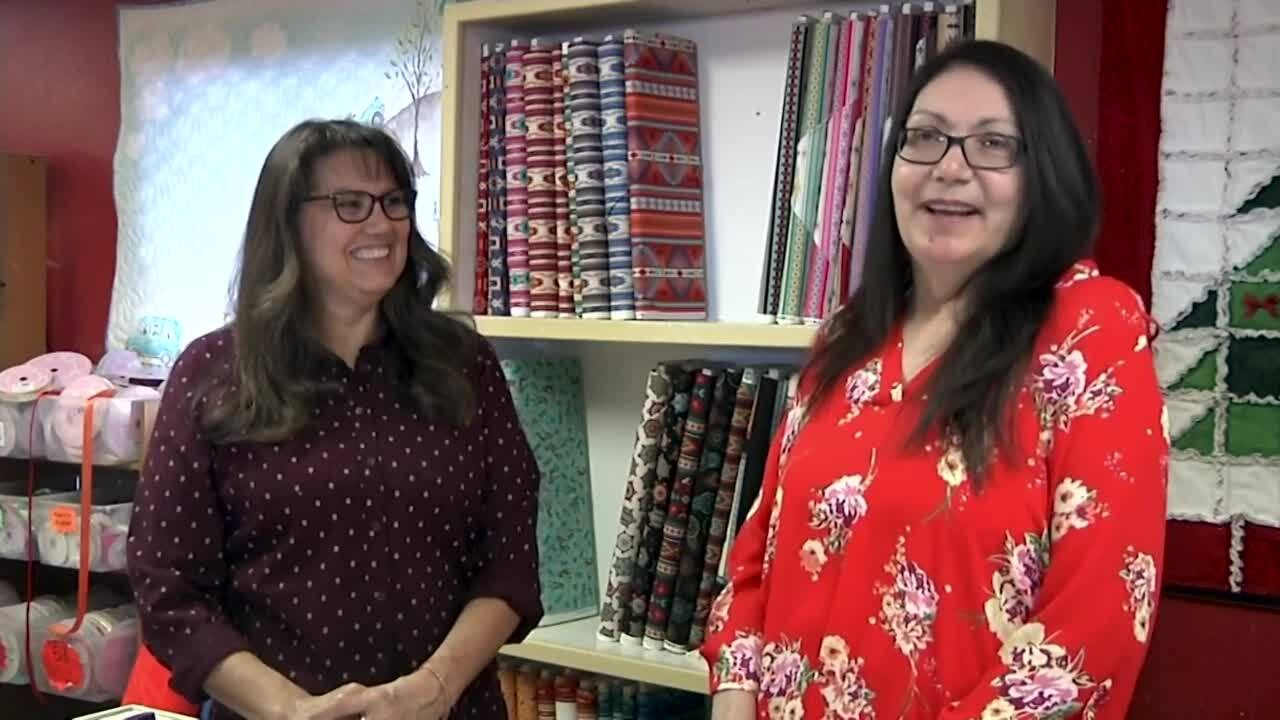Native Life is a specialty fabric, sewing needs, and gift shop in Browning