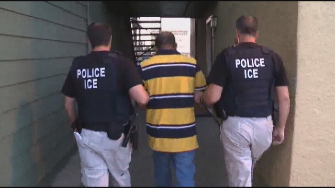 Sheriff defends allowing ICE agents at jail