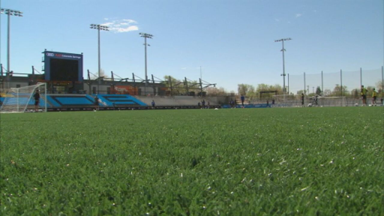 Switchbacks FC excited for home opener at the brand new Weidner Field