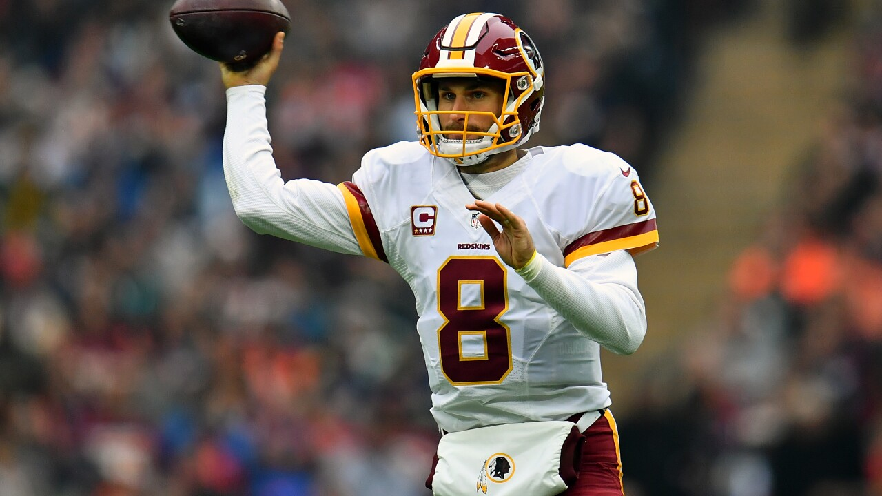 """Kirk Cousins """"passes"""" along wellwishes"""