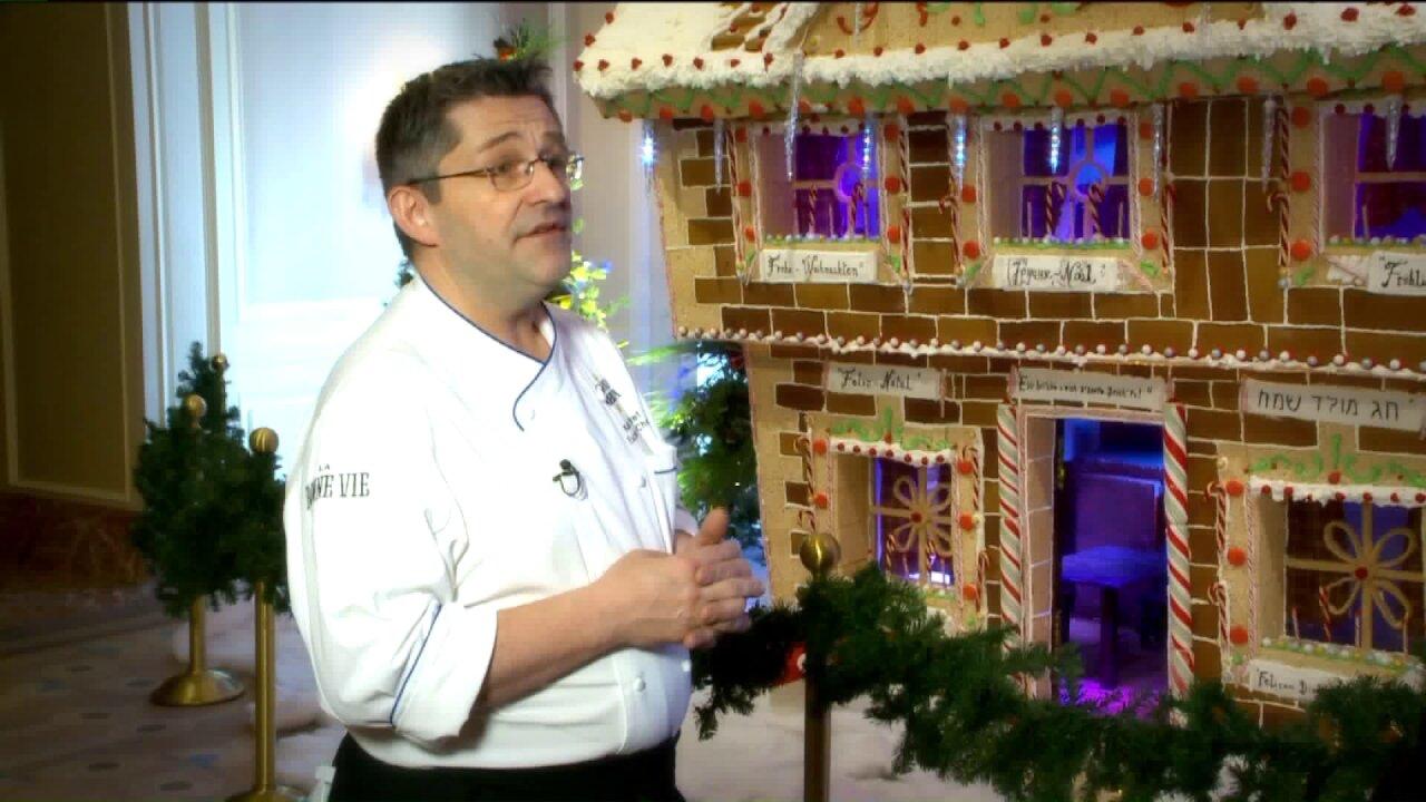 Uniquely Utah: The grand gingerbread house at GrandAmerica