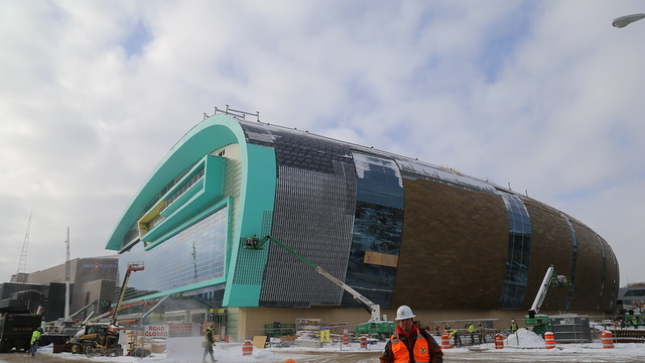 Fiserv Forum construction time-lapse [VIDEO]