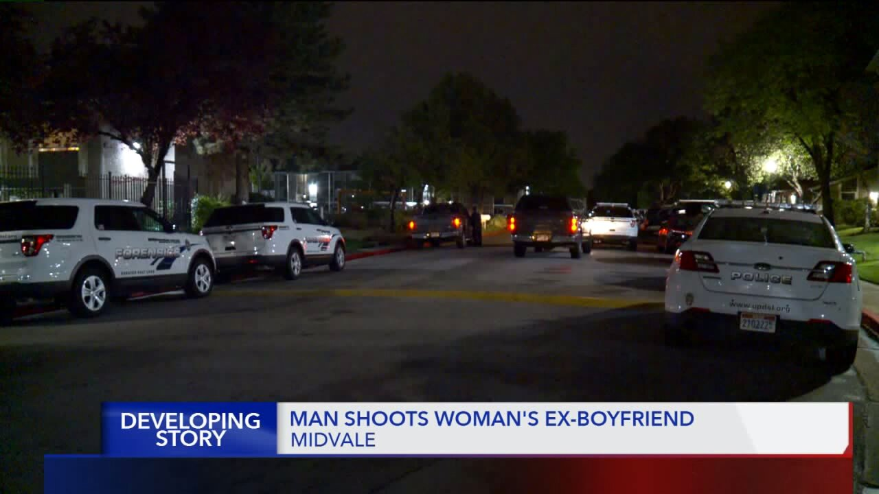 Police: man shoots woman's ex-boyfriend in Midvale