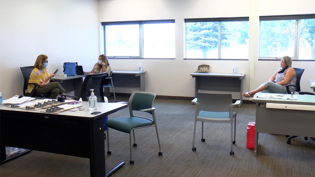 MSUB City College COVID clinic