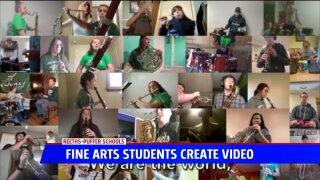 Fine Arts students create impactful video