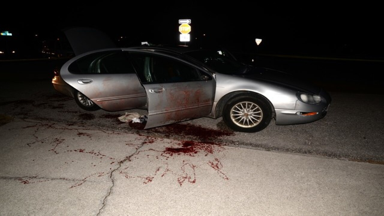 Blood-covered car leads to arrest in Florida