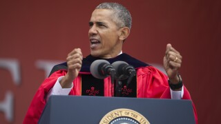 Former President Barack Obama to give virtual commencement address to class of 2020