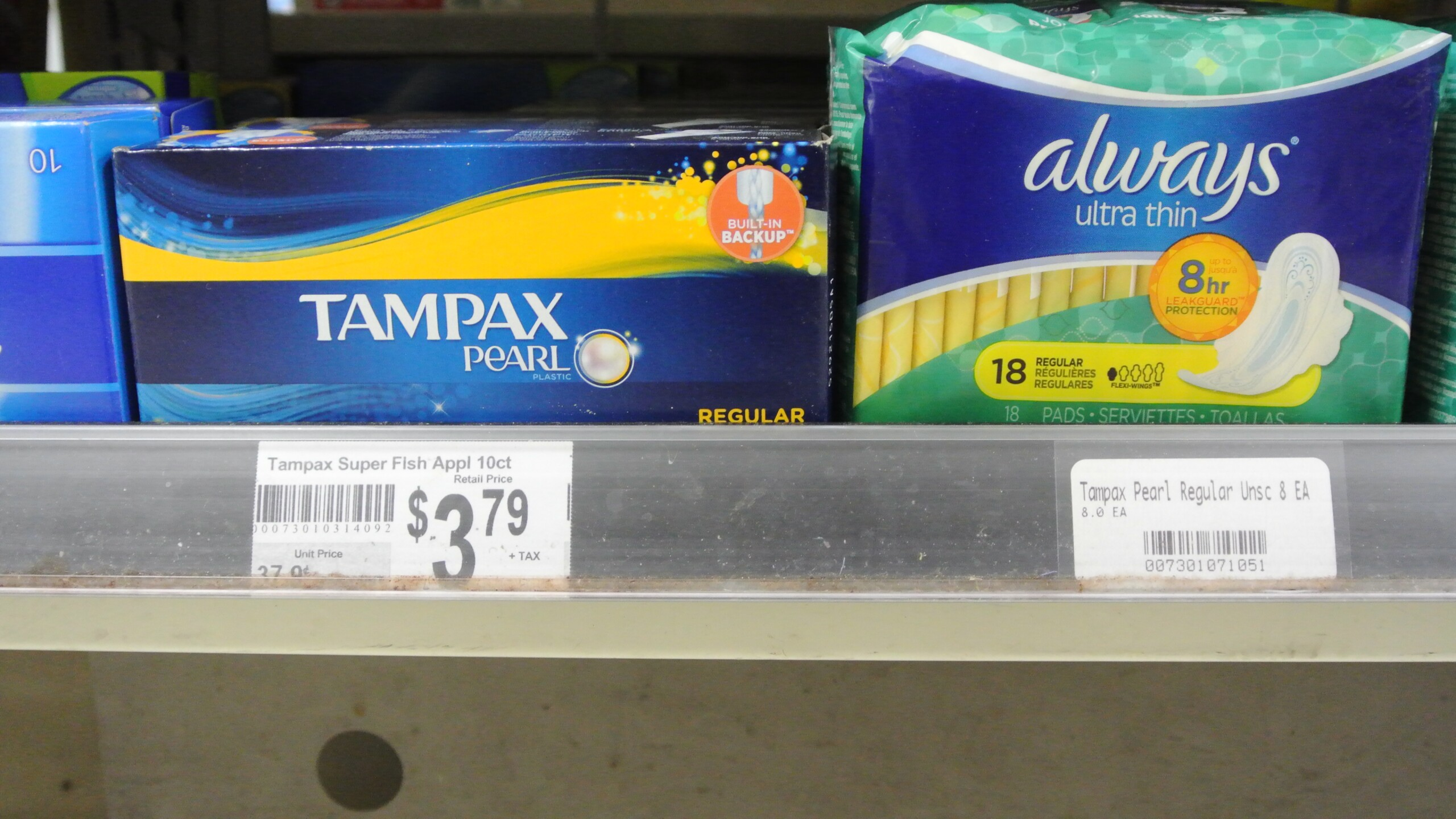 Photos: Gov. Northam signs law slashing sales tax on personal hygiene products
