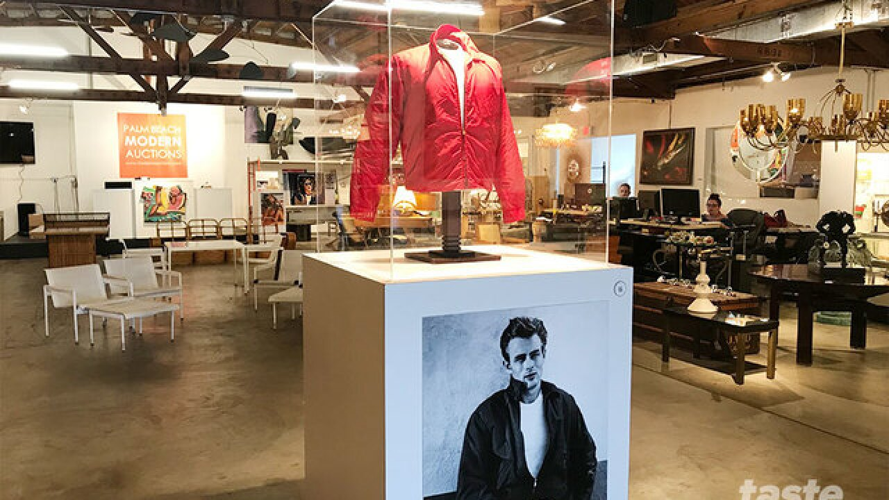 """Own James Dean's iconic red jacket from the movie """"Rebel Without A Cause"""""""