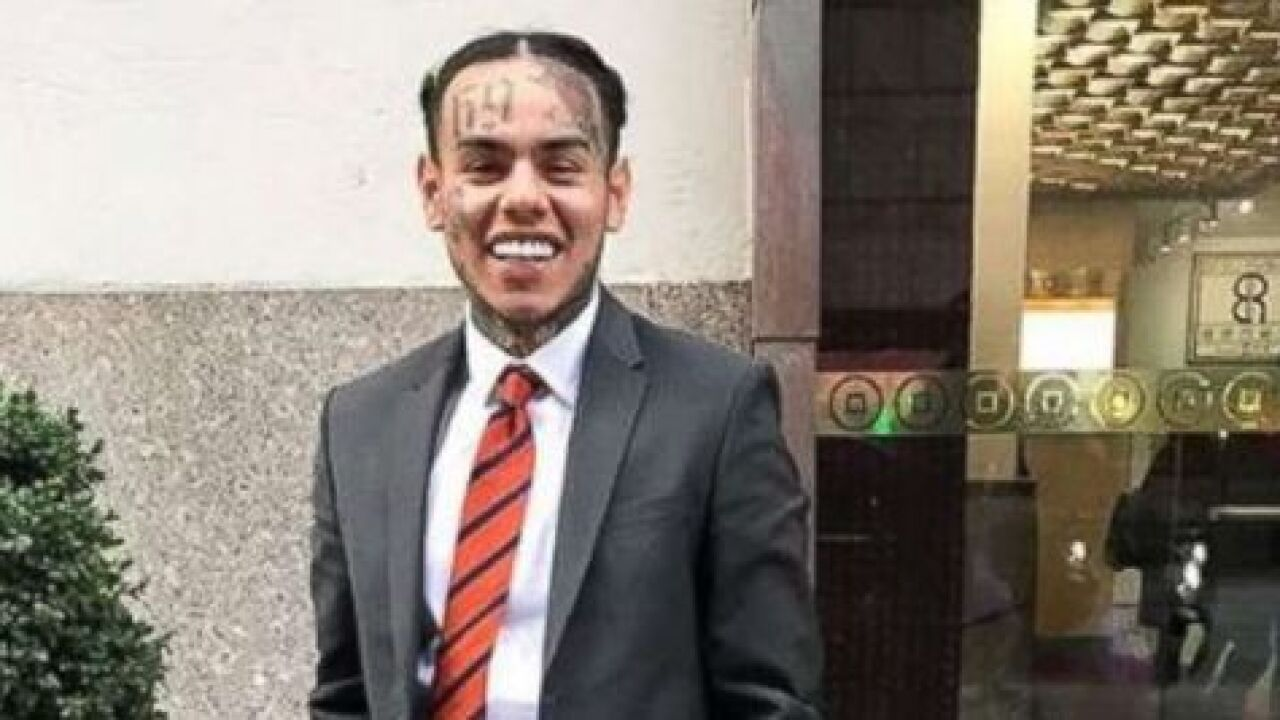 Rapper Tekashi69 linked to shooting investigation hours after probation sentence, police say