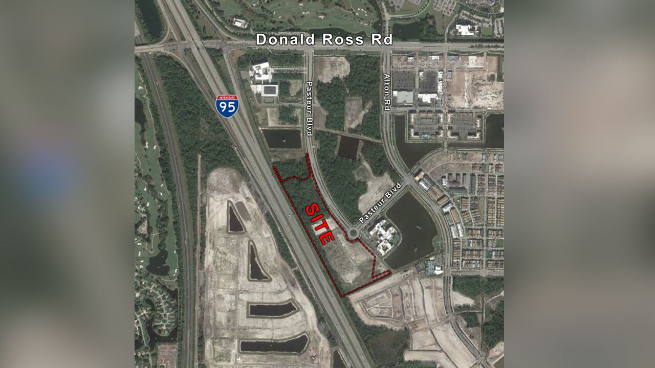 Proposal site for new hospital in Palm Beach Gardens