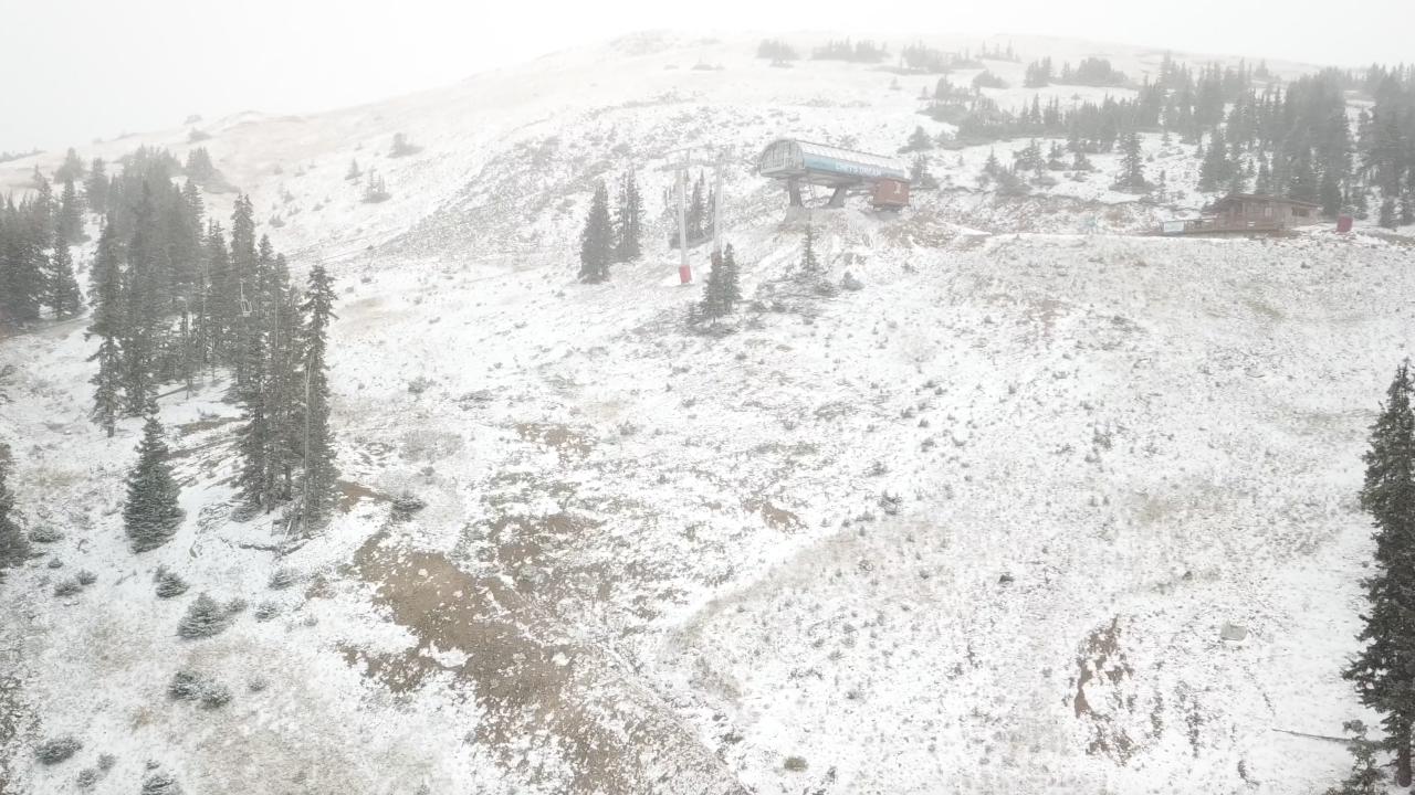 Loveland Ski Area Sept 8 2020 snow