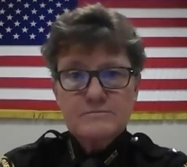 Hamilton County Sheriff Charmaine McGuffey on Zoom