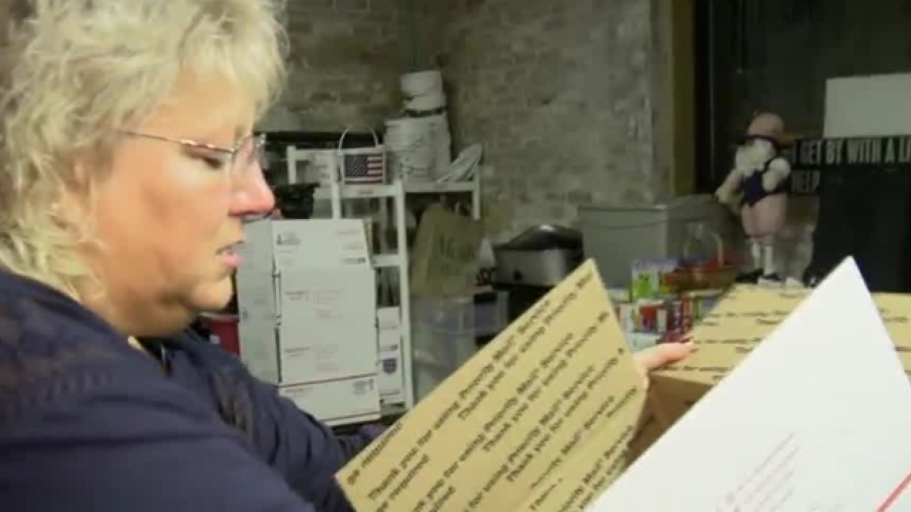 WI woman to send 10K care packages to the troops