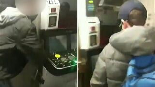 Teens allegedly break into subway conductor booth in Queens