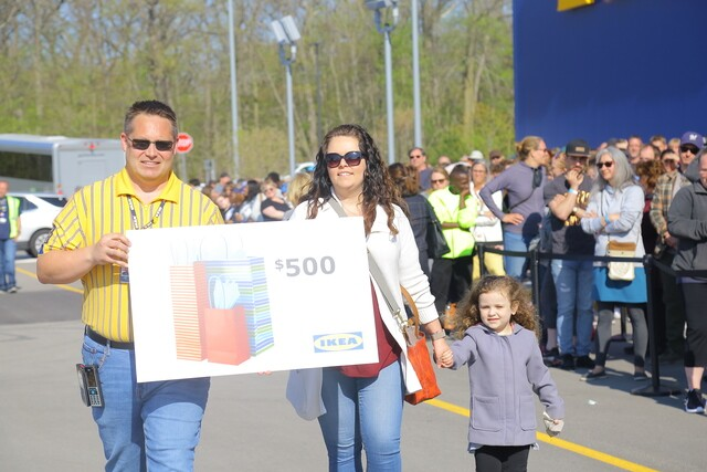 Hundreds pack Wisconsin's first IKEA store for its opening day in Oak Creek