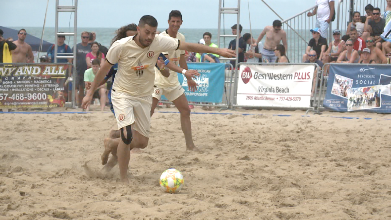 Sights and sounds from the North American Sand SoccerChampionships
