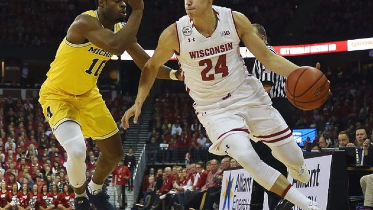 Milwaukee Bucks sign former Badger standout Bronson Koenig to a two-way contract